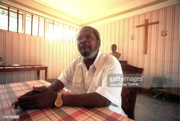 Portraits of JeanBedel Bokassa In Central African Republic On May 26 1996