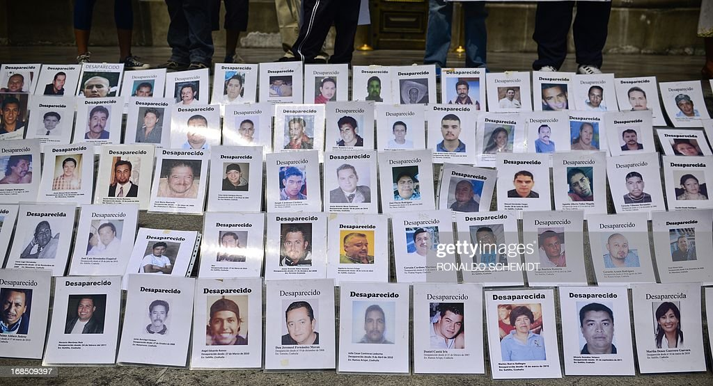 MEXICO-MOTHERS-MISSING-PROTEST : News Photo