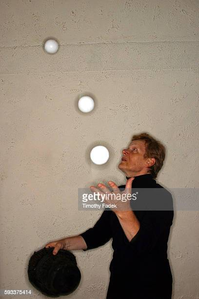 Portraits of Philippe Petit in an apartment of a friend in the Manhattan borough of New York In 1974 Philippe Petit a 24 year old man from Paris made...