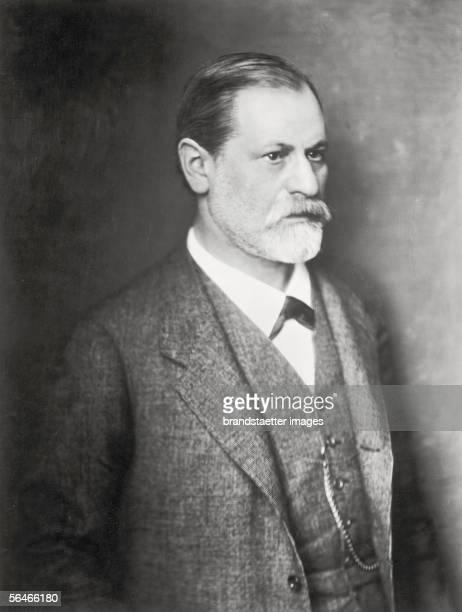 Portraits of Sigmund Freud Photography 1912 [Portrait von Sigmund Freud Photographie 1912]