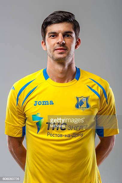Portraits Rostov RostovonDon August 2016 Russian Premier League