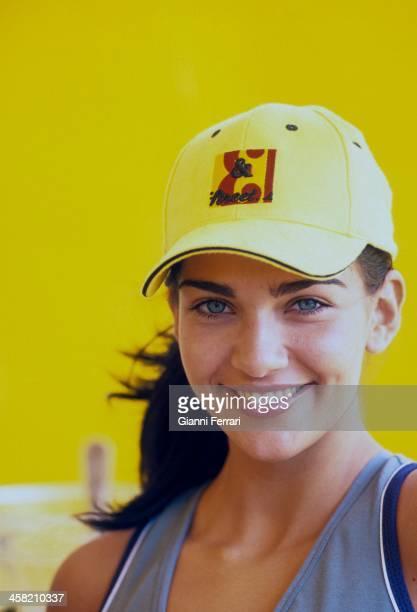 Portraoit of Lorena Bernal Miss Spain 1999 Madrid Spain