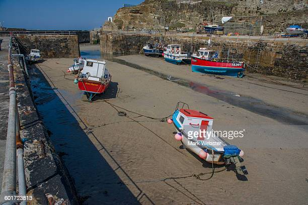 portreath harbour - the webster stock pictures, royalty-free photos & images
