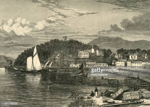 Portree', 1898. Portree, largest town and capital of the Isle of Skye, from the 1700s a popular point of departure for Scots sailing to America to...