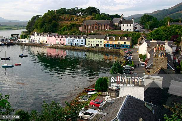 Portree, Isle of Skye, Highland, Scotland. Portree is the largest town on Skye.