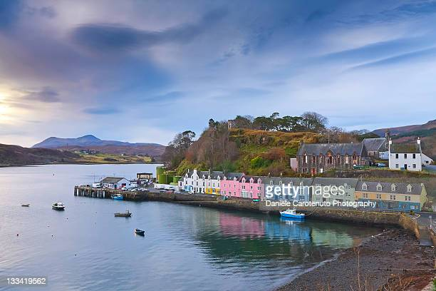 portree - daniele carotenuto stock pictures, royalty-free photos & images