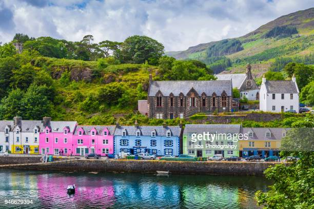 Portree The Capital Of Isle Of Skye