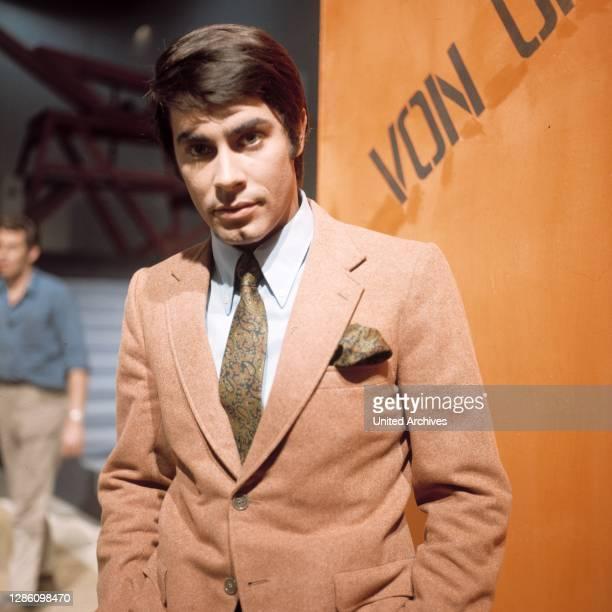 Porträt aus den 1970er Jahren. Porträt, Musik, Sänger, Schlager, Schauspieler, 80er, Gerhard Höllerich.