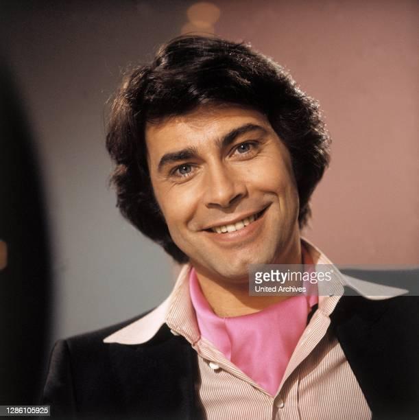 Porträt aus den 80er Jahren. Porträt, Musik, Sänger, Schlager, Schauspieler, 80er, Gerhard Höllerich.