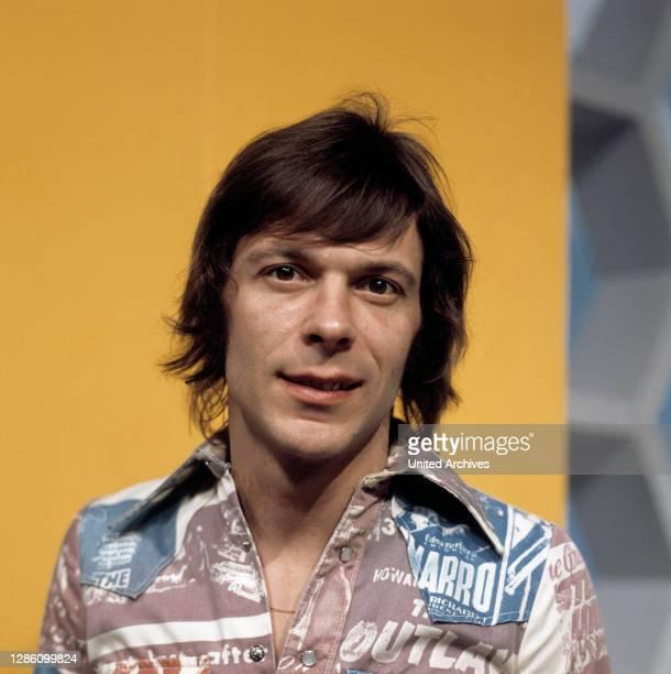 Porträt circa 1974. / Musik, Sänger, Liedermacher, Porträt, 70er.