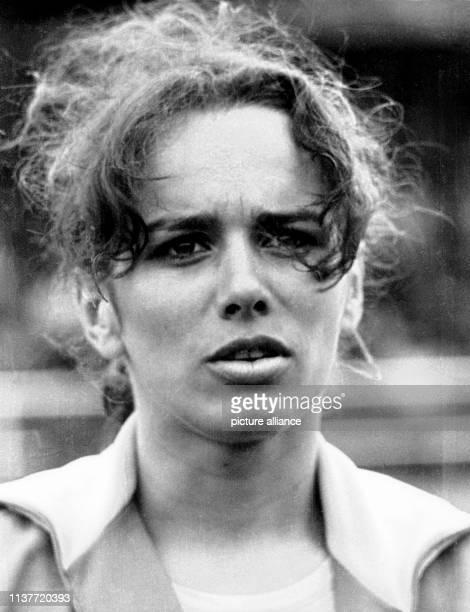 Porträt der deutschen Leichtathletin Heidi Schüller, aufgenommen am 8.7.1972. Im Namen der Sportler wird bei der Eröffnung der 20. Olympischen Spiele...