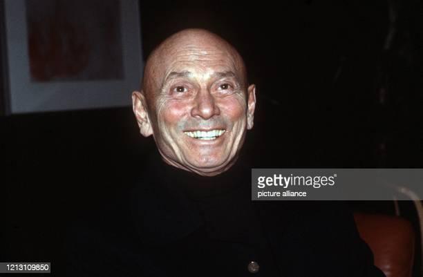 Porträt des Schauspielers Yul Brynner, Aufnahme vom Dezember 1983. Der schweizerisch-amerikanische Schauspieler russischer Herkunft wurde am 11. Juli...