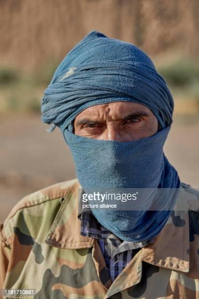 Porträt eines Hirten in der Nähe der Stadt Torbat-e Jam nahe der afghanischen Grenze im Nordwesten des Irans, aufgenommen am .