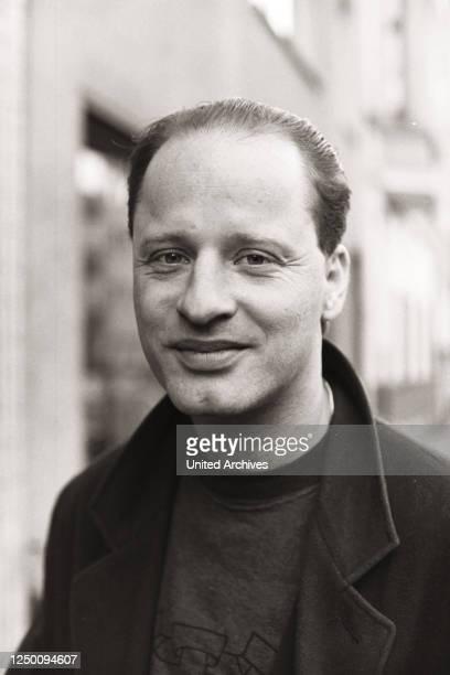 Porträt Tom Gerhardt, 80er - Der deutscher Komiker und Schauspieler Tom Gerhardt in den 80er Jahren in Köln.