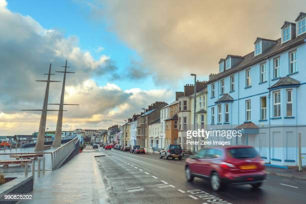 Portrush, a small seaside town in County Antrim, Northern Ireland