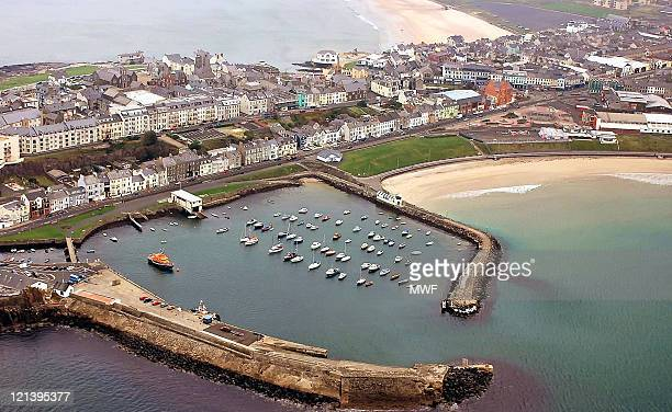 portrush harbour - portrush stock pictures, royalty-free photos & images