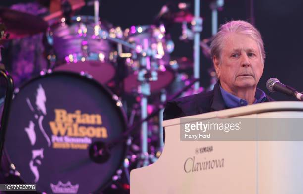 Brian Wilson performs at Victorious Festival on Southsea Seafront on August 25 2018 in Portsmouth England