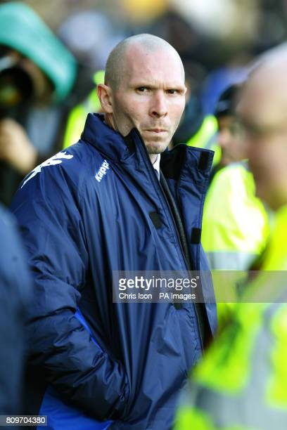 Portsmouth FC Manager Michael Appleton during the npower Football League Championship match at Fratton Park Portsmouth