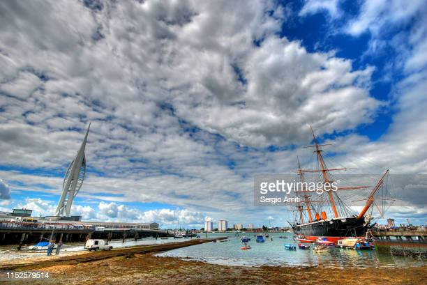 Portsmouth spinnaker and beach