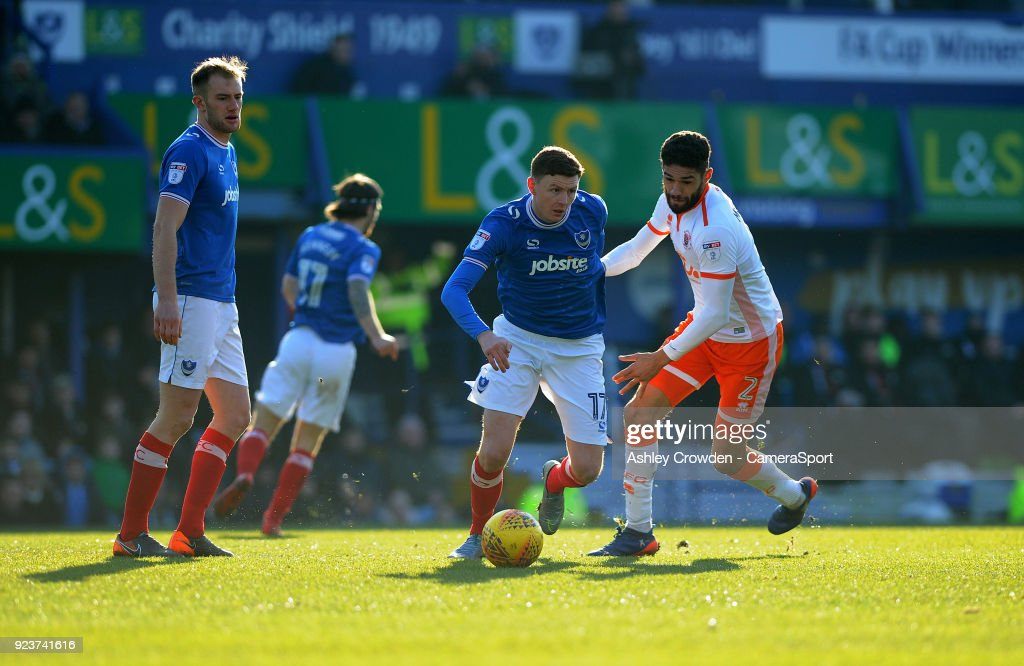 Portsmouth v Blackpool - Sky Bet League One