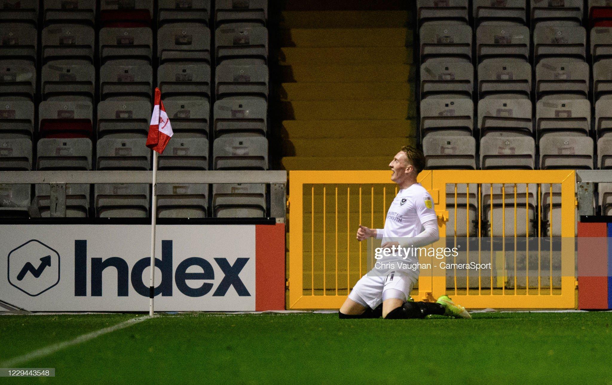 Lincoln City v Portsmouth - Sky Bet League One : News Photo