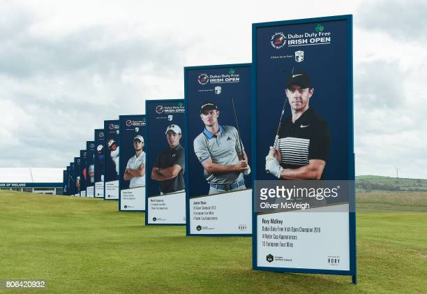 Portstewart United Kingdom 3 July 2017 A general view of the course ahead of the Dubai Duty Free Irish Open Golf Championship at Portstewart Golf...