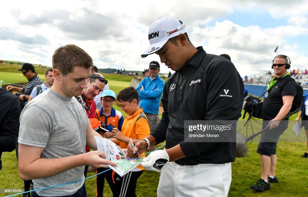 Dubai Duty Free Irish Open Golf Championship - Pro-Am : ニュース写真