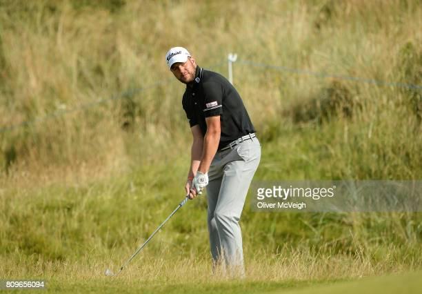 Portstewart United Kingdom 6 July 2017 Matthew Southgate of England on the 7th hole during Day 1 of the Dubai Duty Free Irish Open Golf Championship...