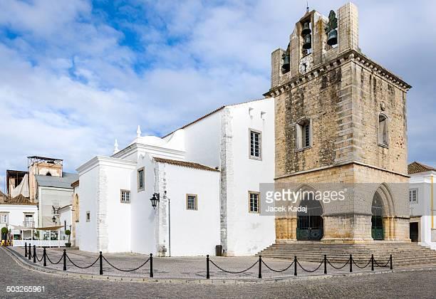 Portugal, Algarve, Faro old town Se Cathedral