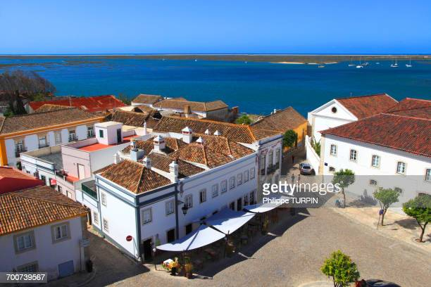 portugal, algarve. faro. - faro city portugal fotografías e imágenes de stock