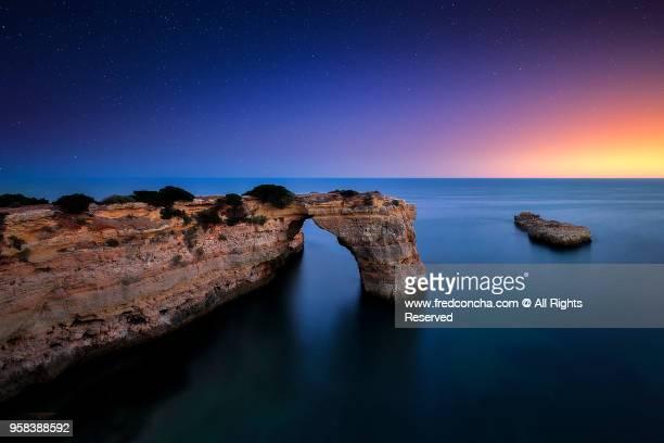 Portugal, Algarve, Landscape near Lagoa, Praia de Albandeira