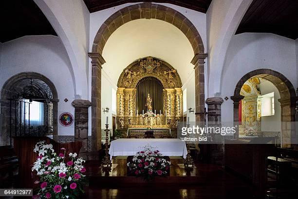 Portugal Algarve Monchique Altstadt Kirche Igreja Matiz Altar