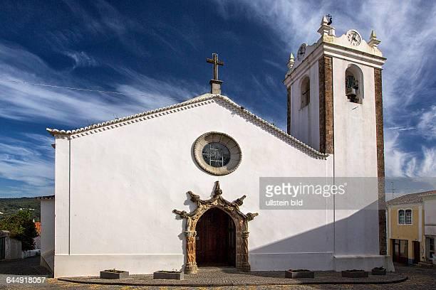 Portugal Algarve Monchique Altstadt Kirche Igreja Matiz