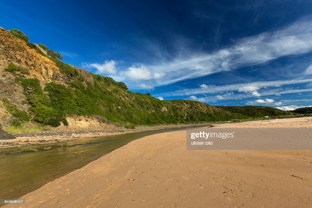 Fluss In Portugal portugal algarve odeceixe praia de odeceixe pictures getty images
