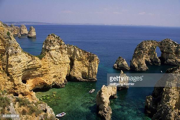 Portugal Algarve Ponta Da Piedade Coastal Rock Formations
