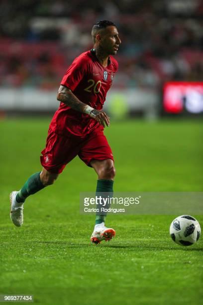 Portugal and Besiktas forward Ricardo Quaresma during Portugal vs Algeria International Friendly match at Estadio da Luz on June 7 2018 in Lisbon...