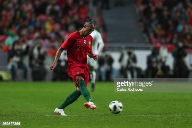 Portugal and Glasgow Rangers defender Bruno Alves during Portugal vs Algeria International Friendly match at Estadio da Luz on June 7 2018 in Lisbon...