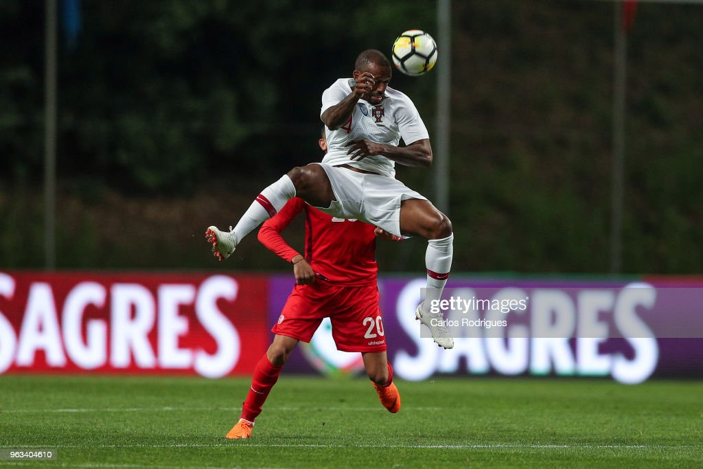 Portugal and Lokomotiv Moskva midfielder Manuel Fernandes during the Portugal vs Tunisia International Friendly match on May 28, 2018 in Braga, Portugal.