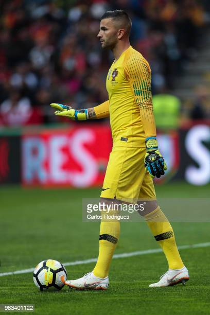 Portugal and Olympique Lyonnais goalkeeper Anthony Lopes during the Portugal vs Tunisia International Friendly match on May 28 2018 in Braga Portugal