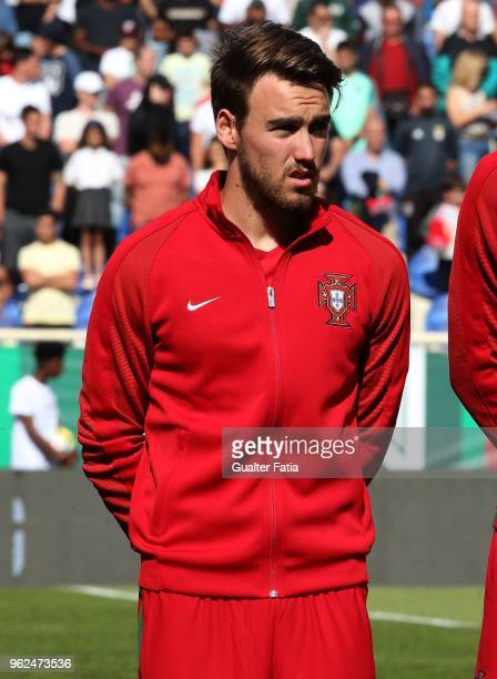 Portugal and SC Braga midfielder Andre Horta before the start of the U21 International Friendly match between Portugal and Italy at Estadio Antonio...