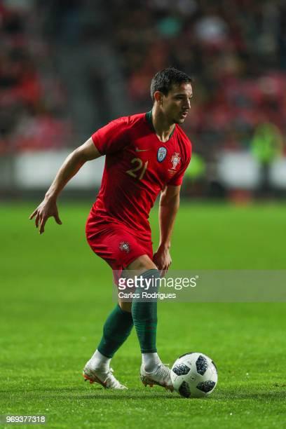 Portugal and Southampton defender Cedric Soares during Portugal vs Algeria International Friendly match at Estadio da Luz on June 7 2018 in Lisbon...