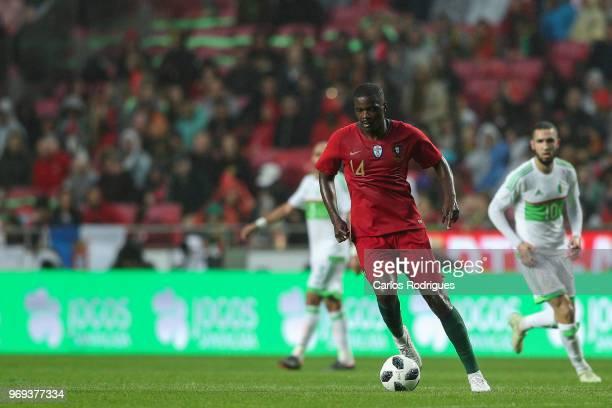Portugal and Sporting CP midfielder William Carvalho during Portugal vs Algeria International Friendly match at Estadio da Luz on June 7 2018 in...