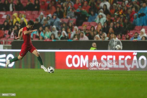 Portugal and Valencia FC forward Goncalo Guedes during Portugal vs Algeria International Friendly match at Estadio da Luz on June 7 2018 in Lisbon...
