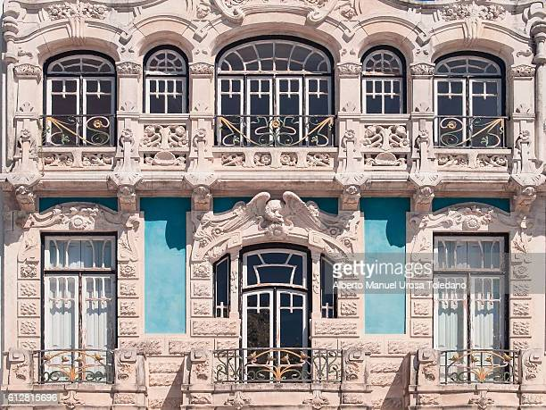 portugal, aveiro, museum of art nouveau - art nouveau fotografías e imágenes de stock