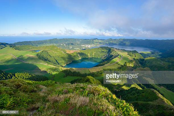 Portugal, Azores, Sao Miguel, Caldera Sete Cidades