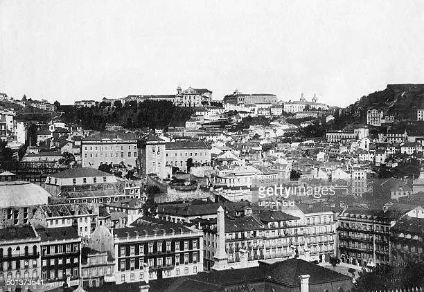 city of Lisbon probably in the 1910s