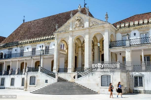 Portugal Coimbra University of Coimbra Paco das Escolas University Palace Via Latina