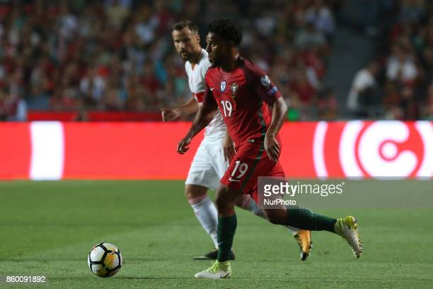 Portugal defender Eliseu during the match between Portugal v Switzerland FIFA 2018 World Cup Qualifier match at Luz Stadium on October 10 2017 in...