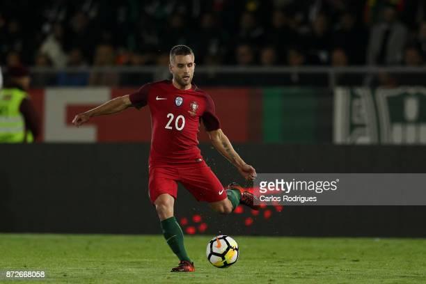 Portugal defender Kevin Rodrigues during the match between Portugal and Saudi Arabia InternationalFriendly at Estadio do Fontelo on November 10 2017...