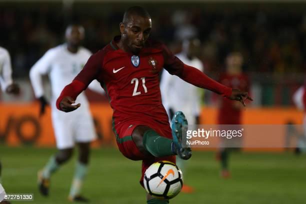Portugal defender Ricardo Pereira during the match between Portugal v Saudi Arabia International Friendly at Estadio do Fontelo on November 10 2017...